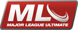 The logo of Major League Ultimate, the new professional Ultimate league.