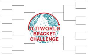 The logo for the 2012 Ultiworld Bracket Challenge.