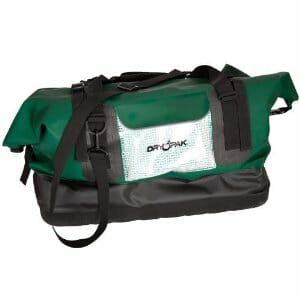 The waterproof Kwik Tek duffel bag.