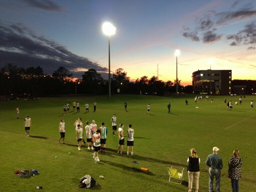 Carleton CUT under the lights in Tampa at Warm Up 2013.