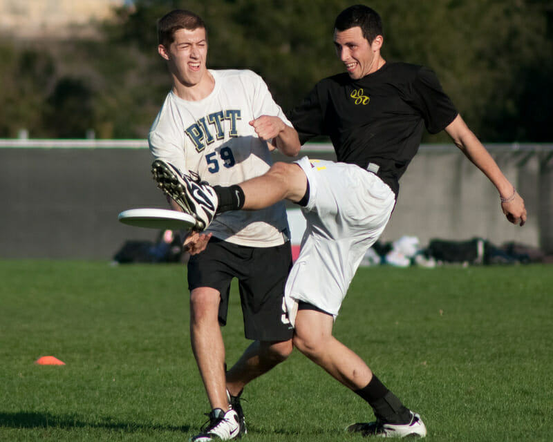 Pittsburgh takes on Oregon at the 2012 Stanford Invite.