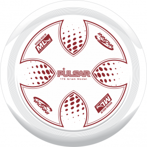 The Innova Pulsar -- the official Major League Ultimate disc.