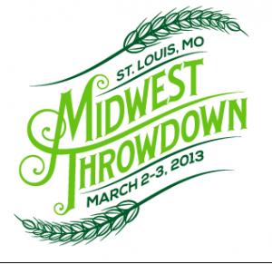 The logo of Midwest Throwdown 2013.