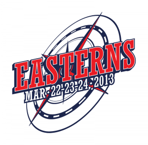 The logo of Easterns 2013.
