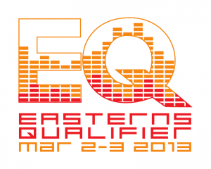 The logo of the Easterns Qualifier 2013.