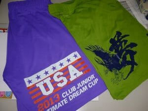 The 2013 Dream Cup USA All-Star Team shorts.