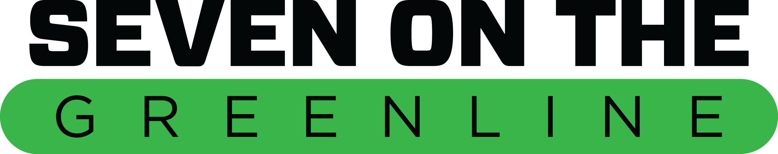 Logo of Seven on the Green Line Hat Tournament.