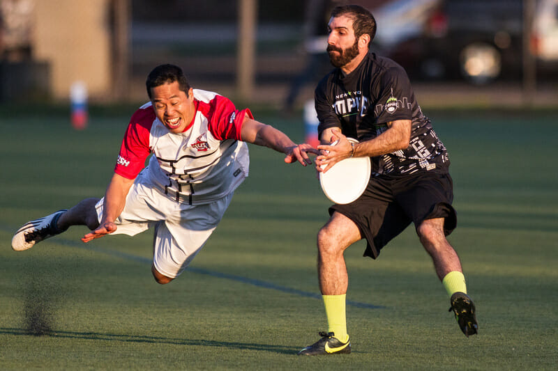 New York Empire v. Toronto Rush in the AUDL 2013.