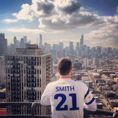 The Windy City Wildfire's Brodie Smith in Chicago.