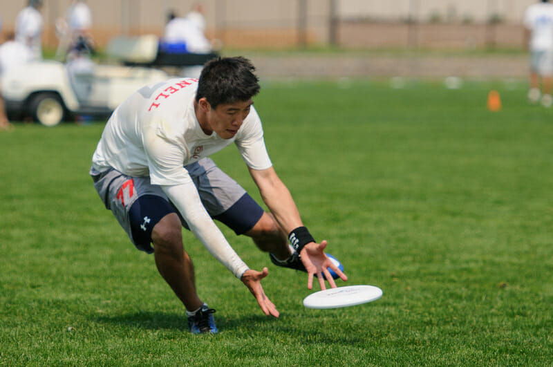 Cornell at the 2012 USA Ultimate College Championships.
