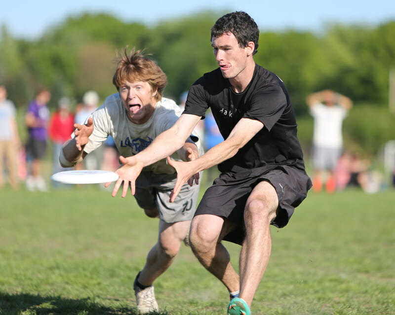 Luther v. UNC at the 2013 USA Ultimate D-I College Championships.