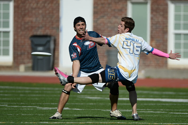 The DC Breeze versus the New Jersey Hammerheads in the AUDL.