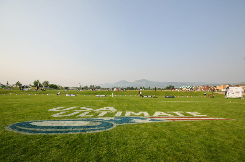 The 2012 D-I College Championships in Boulder, CO.