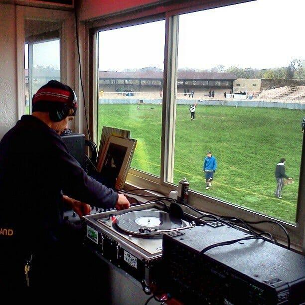The Madison Radicals' DJ.