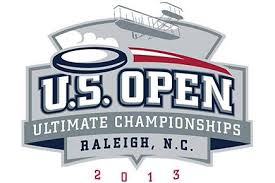 The logo of the 2013 USA Ultimate US Open.