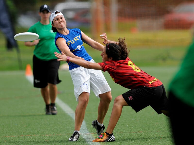 San Francisco Fury v. Austin Showdown at the 2013 US Open.