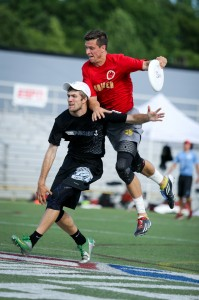 San Francisco Revolver's Beau Kittredge grabs the game-winning score in the finals of the 2013 US Open.