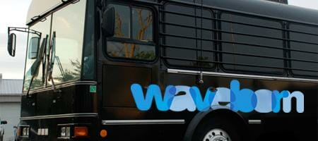 The Waveborn Party Bus.