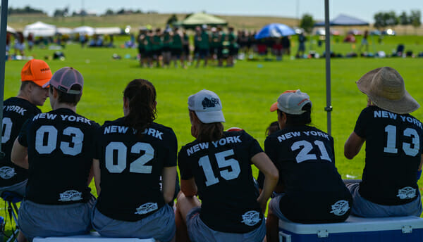 New York Bent at the 2013 Colorado Cup.