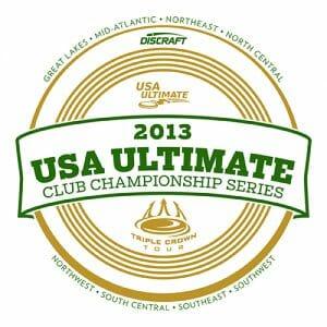 2013 USA Ultimate Club Series logo.