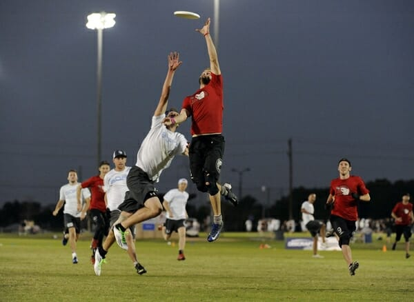 Sockeye defeated GOAT during pool play at the 2013 Club Championships.