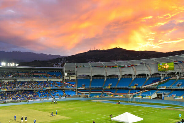 The World Games in Cali, Colombia.