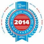 The 2014 USA Ultimate College Series design.