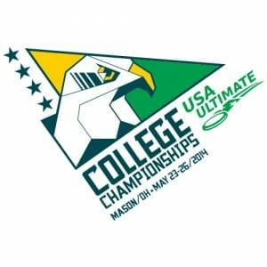 2014 USA Ultimate Division I College Championships logo.