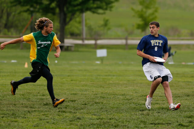 Pitt and UNCW face off at 2013 College Championships.