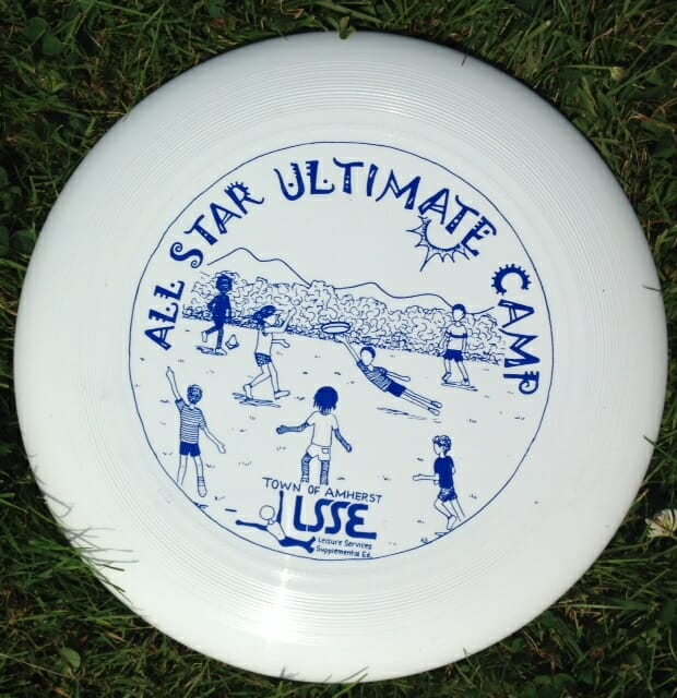 All Star Ultimate Camp in Amherst.