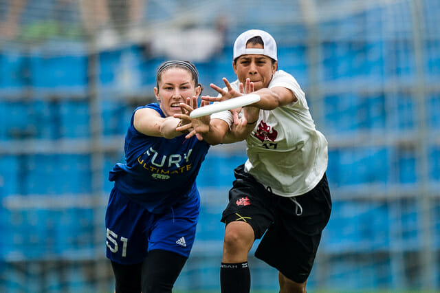 Fury v. Riot at the 2014 World Ultimate Club Championships