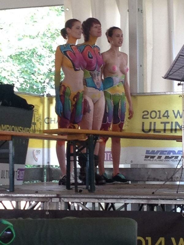 Body painting from WUCC.
