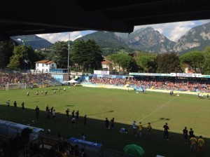 The main stadium in Lecco.