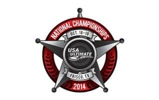 2014 USA Ultimate National Championships logo.