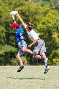 Nick Lance makes a huge catch block at 2014 South Central Regionals.