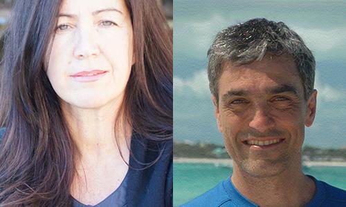 Liz Marino and Jim Parinella.