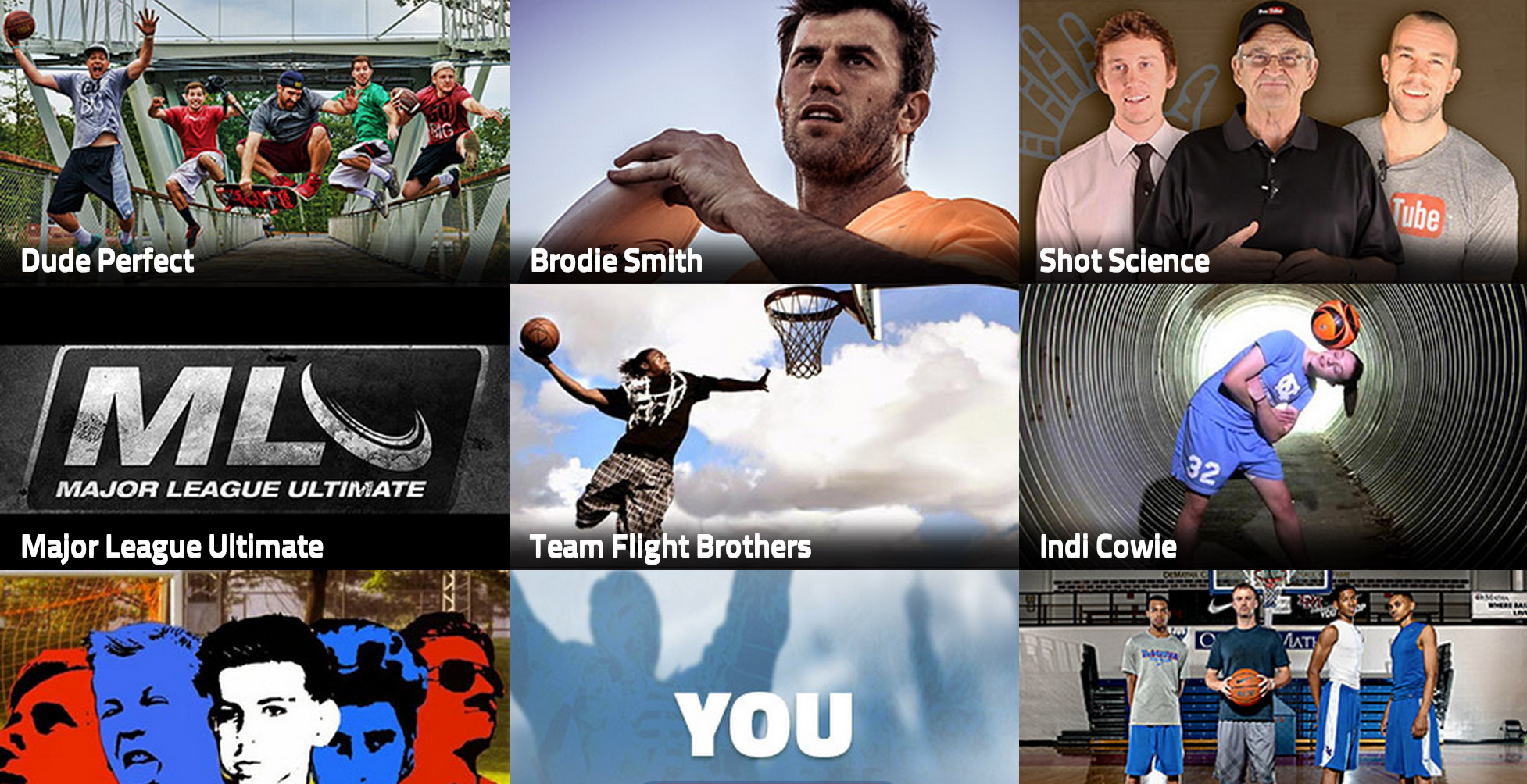 Whistle Sports Homepage