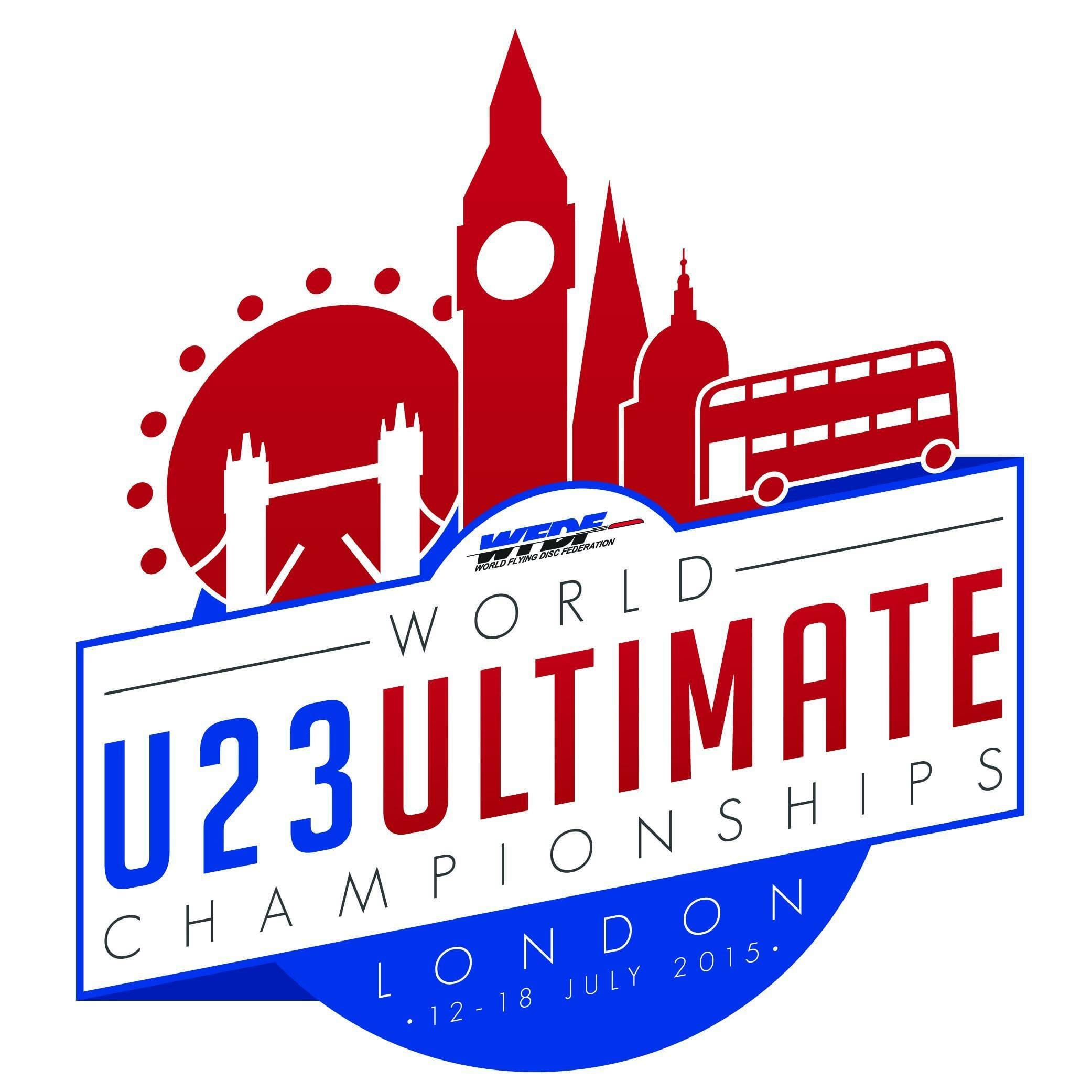 WFDF u23 2015 logo