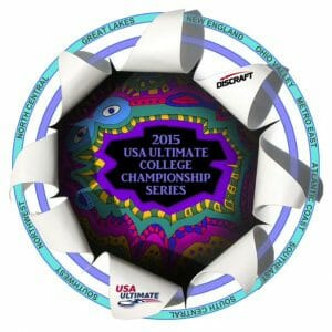 2015 USAU College Series Disc