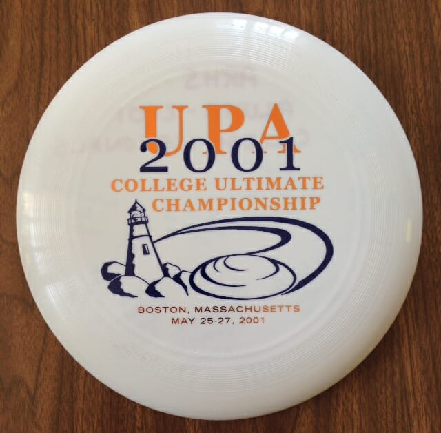 2001 UPA College Series Disc