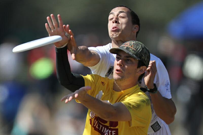 ASU's Nate Bridges and Pitt's Trent Dillon.