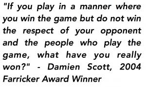 Damien Scott Quote