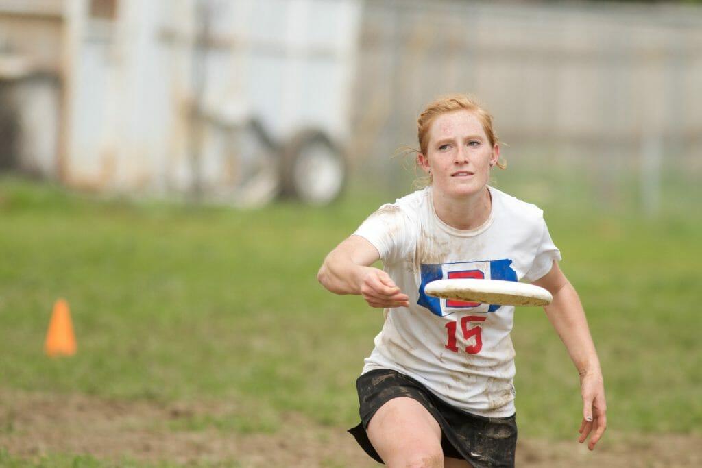Kansas' Caitlin Fitzgerald.