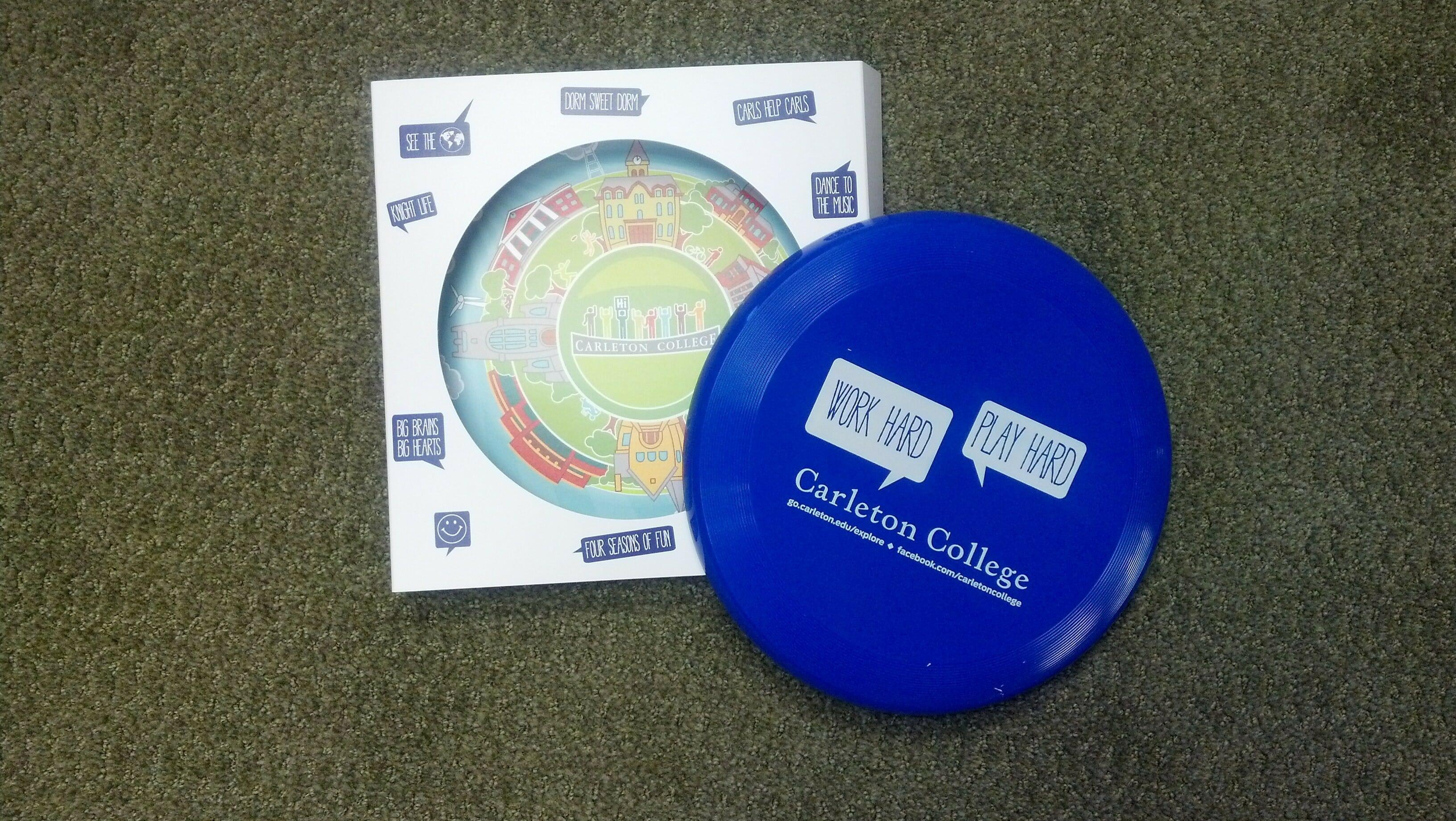Carleton Recruiting Frisbee