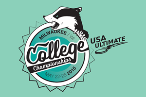 2015 USA Ultimate D-I College Championships Logo