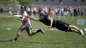 Lauren Sadler goes huge for a bid at 2015 College nationals.