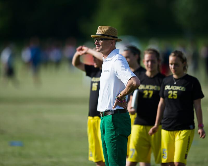 Oregon Fugue Lou Burruss. Photo: Kevin Leclaire  --  UltiPhotos.com