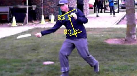 Good shoulder-hips-core alignment
