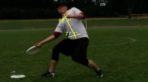 Bad shoulder-hips-core alignment