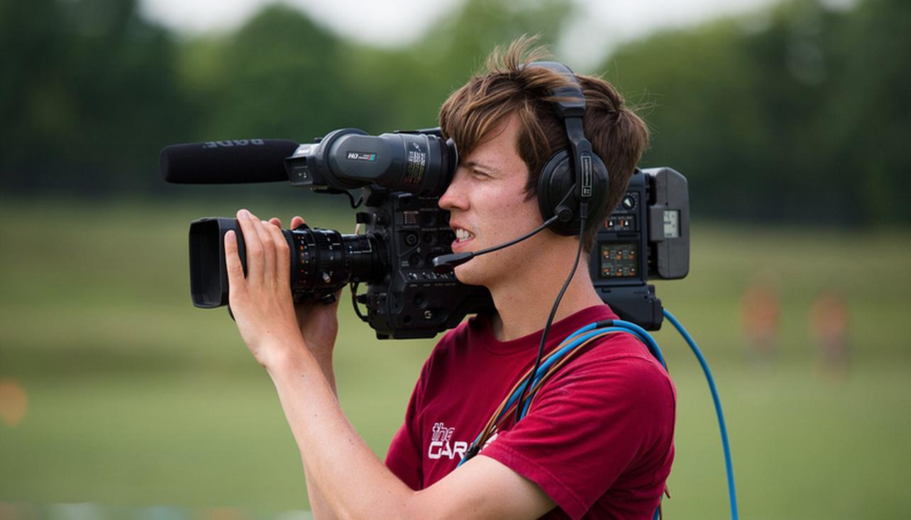 A NexGen Network cameraman. Photo: Kevin Leclaire -- UltiPhotos.com